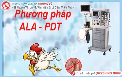 phương pháp chữa sùi mào gà