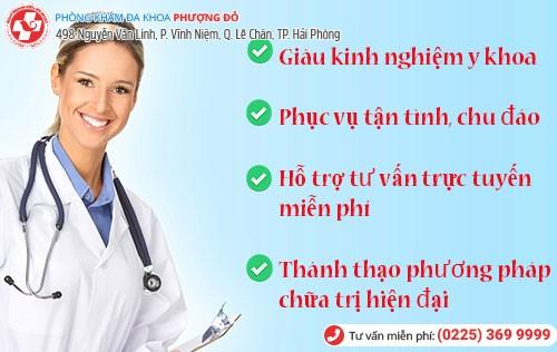 bác sĩ điều trị bệnh phụ khoa