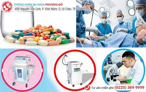 các phương pháp chữa bệnh phụ khoa