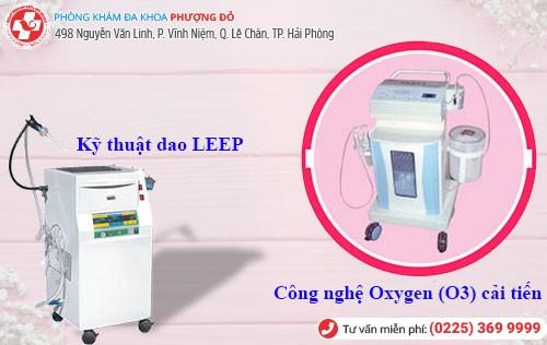 máy móc điều trị bệnh phụ khoa